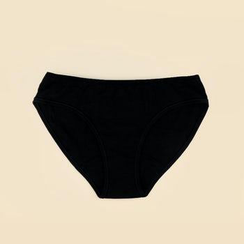 culotte menstruelle coton bio noire jho