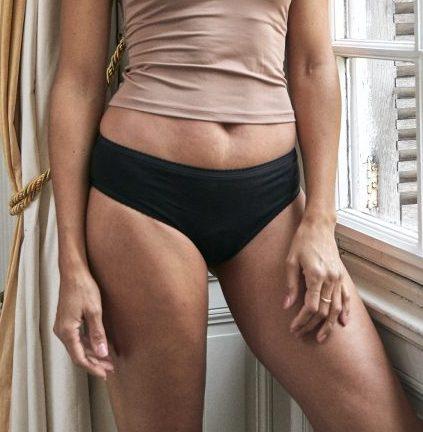 culotte menstruelle noire gaïaréjeanne