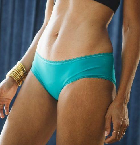 réjeanne shorty callie menstruel turquoise