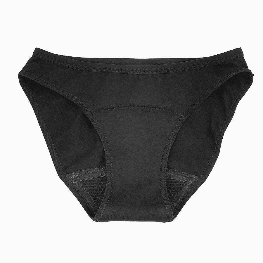 culotte de règle saforelle noire coton biologique