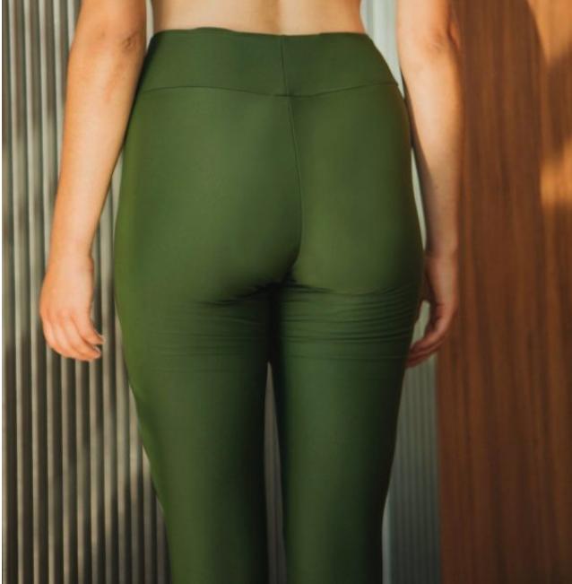 legging menstruel vert rejeanne