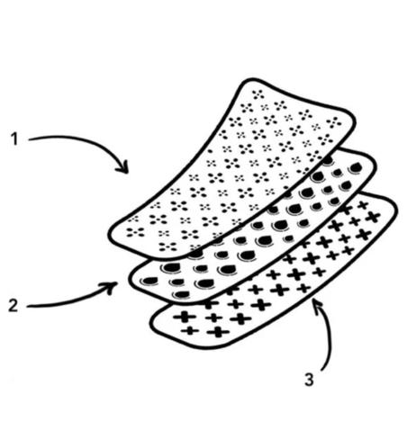 couches qui composent la culotte moodz