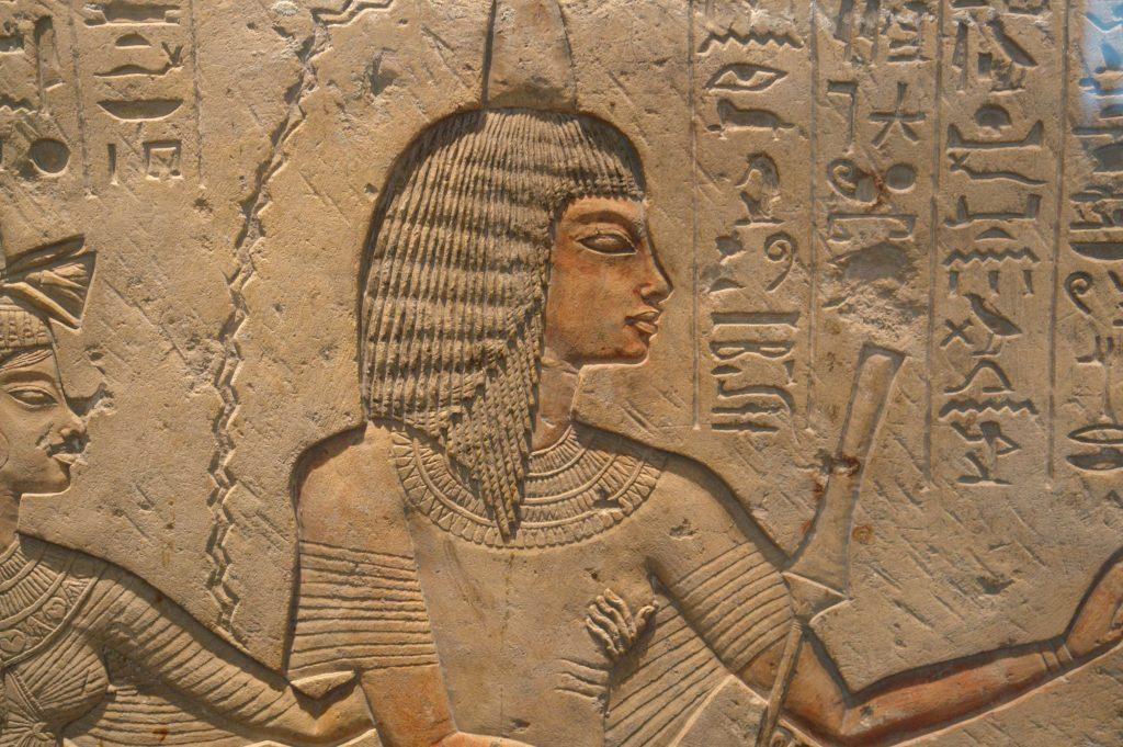 premier tampon en egypte antique
