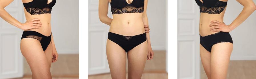 modeles de culottes marque elia lingerie