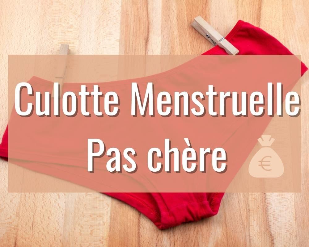 culotte menstruelle pas chère