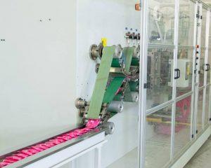 usine de fabrication de serviettes hygiéniques jetables